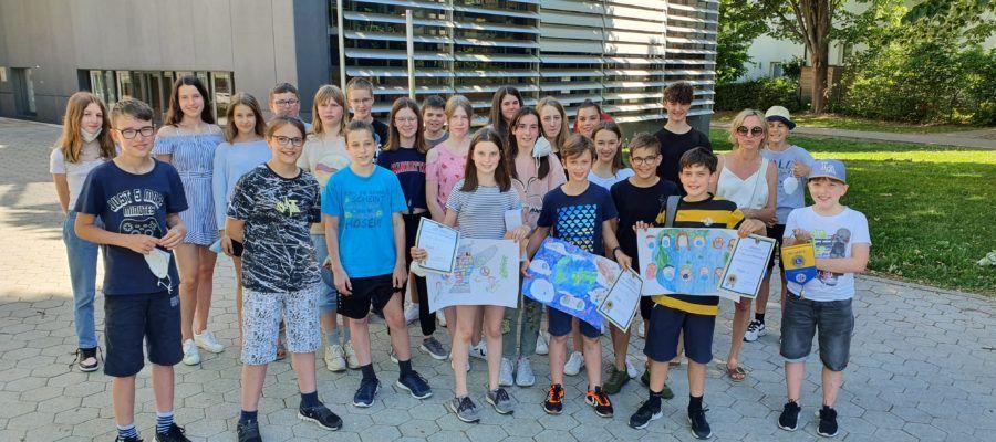 Gruppenfoto Gymnasium Tulln